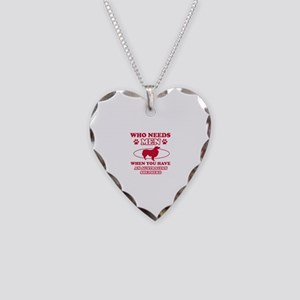 Australian Shepherd mommy designs Necklace Heart C