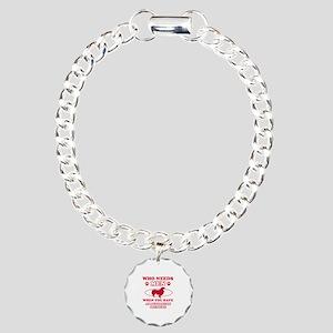Australian Shepherd mommy designs Charm Bracelet,