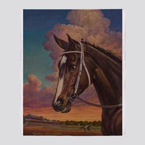 Rachel Alexandra Throw Blanket
