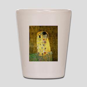 The Kiss Gustav Klimt Shot Glass