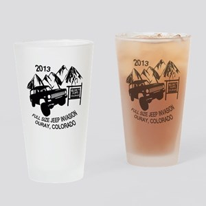 Ouray FSJ Invasion 2013 transparent Drinking Glass