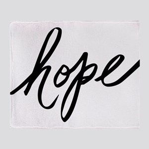 Hope Throw Blanket