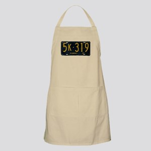 Hawaii 1951 License Plate Apron