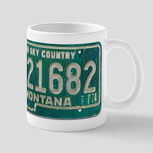 1974 Montana License Plate Mug