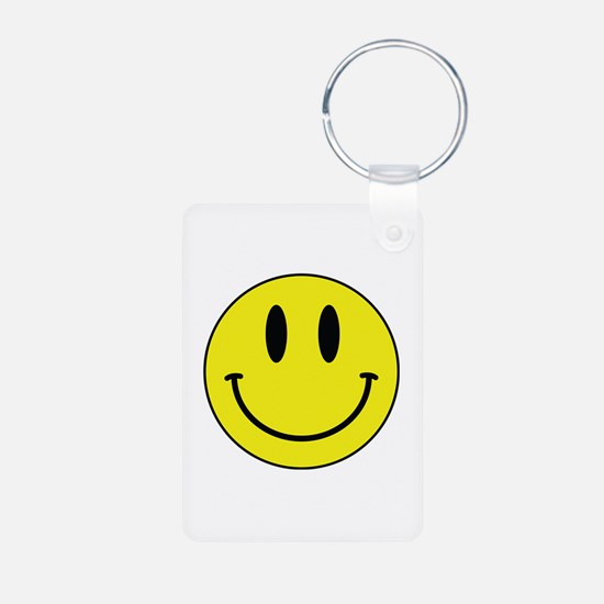 Keep Calm And Be Happy Keychains