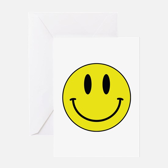 Keep Calm And Be Happy Greeting Card