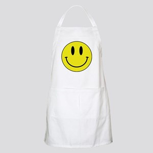 Keep Calm And Be Happy Apron