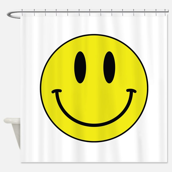 Keep Calm And Be Happy Shower Curtain