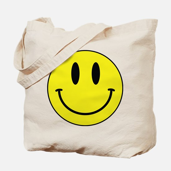 Keep Calm And Be Happy Tote Bag