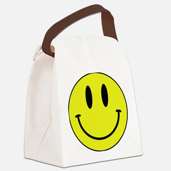 Keep Calm And Be Happy Canvas Lunch Bag