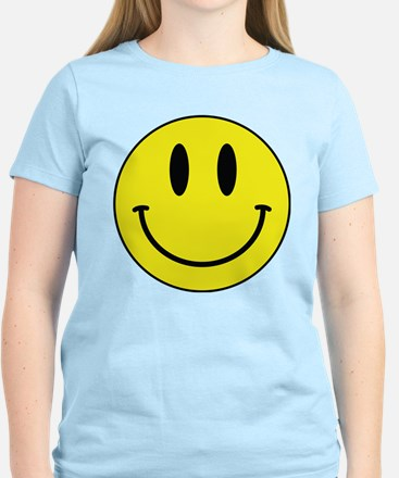 Keep Calm And Be Happy Women's Light T-Shirt