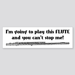 Play This Flute Bumper Sticker