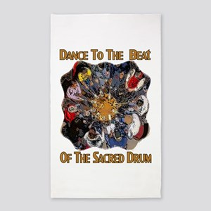 Dance to the Beat 3'x5' Area Rug