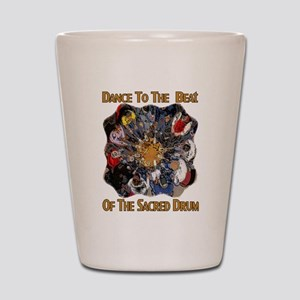 Dance to the Beat Shot Glass