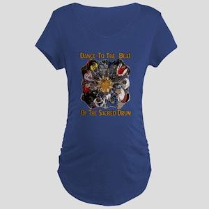 Dance to the Beat Maternity Dark T-Shirt