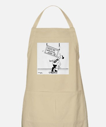 18 Days without an Accident Apron