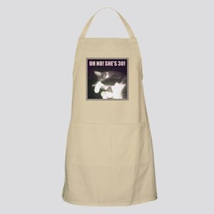 Funny 30th Birthday (Cat) Apron