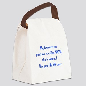 My Fav Sex Position Canvas Lunch Bag