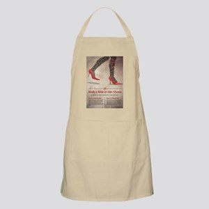 Walk A Mile in Her Shoes Apron