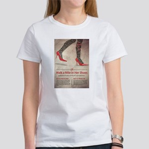 Walk A Mile in Her Shoes T-Shirt