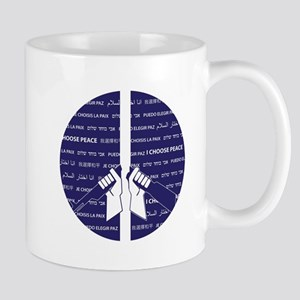 I Choose Peace Mug