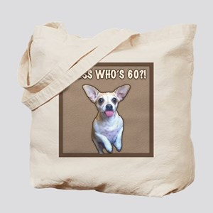 60th Birthday Humor (Dog) Tote Bag