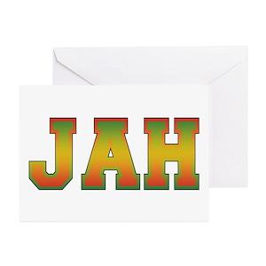 Rasta greeting cards cafepress m4hsunfo