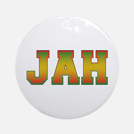 JAH Ornament (Round)