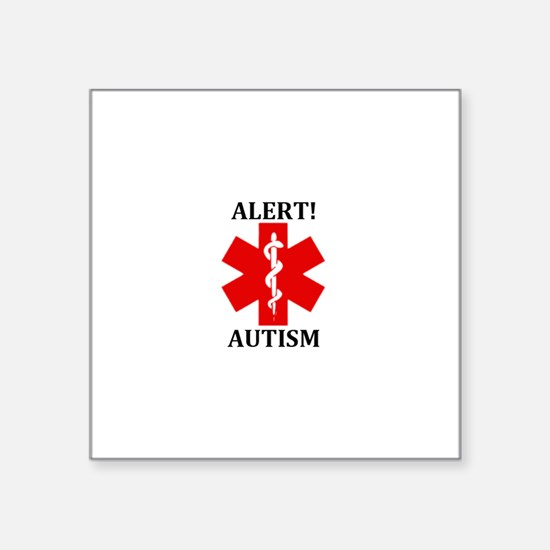 "Autism Medical Alert 3"" Lapel Sticker (48 pk)"