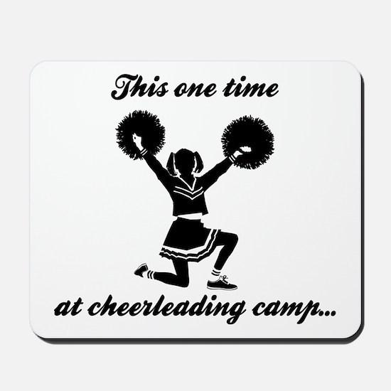 Cheerleading Camp Mousepad