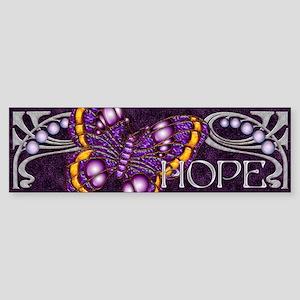 Harvest Moons Hope Butterfly Bumper Sticker