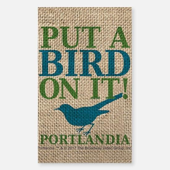 Portlandia Put A Bird On It Decal