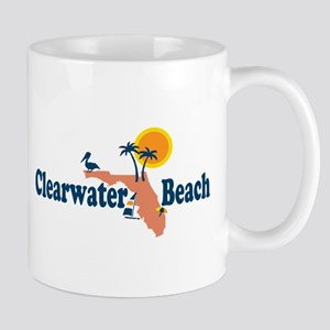 Clearwater FL - Map Design. Mug
