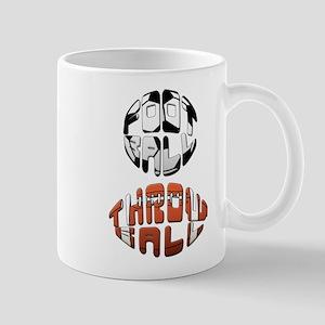 Football Throwball (soccer) Mug