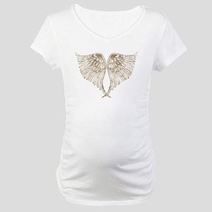Golden Angel Maternity T-Shirt