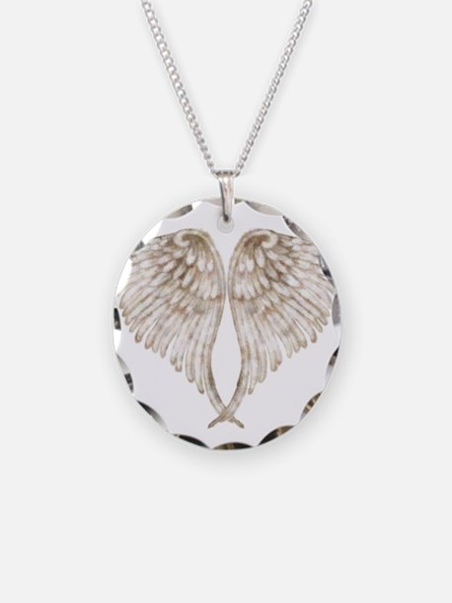 Golden Angel Necklace