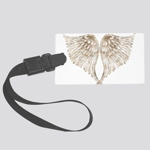 Golden Angel Large Luggage Tag