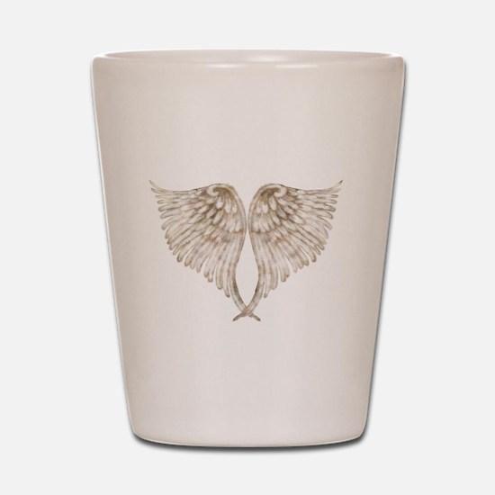 Golden Angel Shot Glass