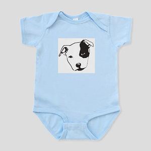 Pied Staffy Infant Bodysuit