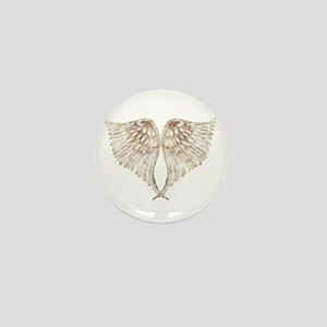 Golden Angel Mini Button