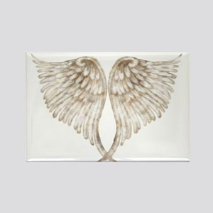 Golden Angel Rectangle Magnet