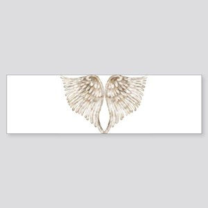 Golden Angel Sticker (Bumper)