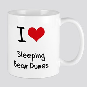 I Love SLEEPING BEAR DUNES Mug