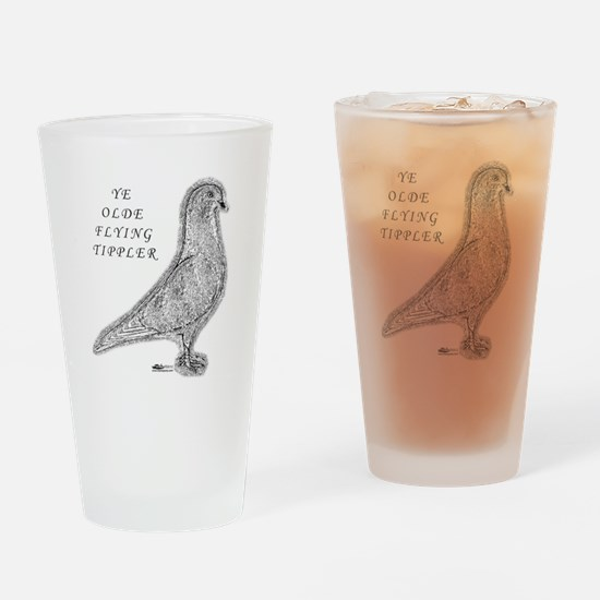 Ye Olde Flying Tippler Pigeon Drinking Glass