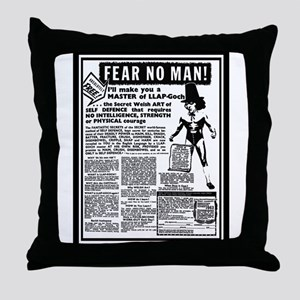 Fear No Man! Throw Pillow