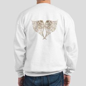 Golden Angel Wings Sweatshirt