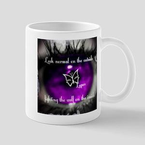 Through the eye of Lupus Mug