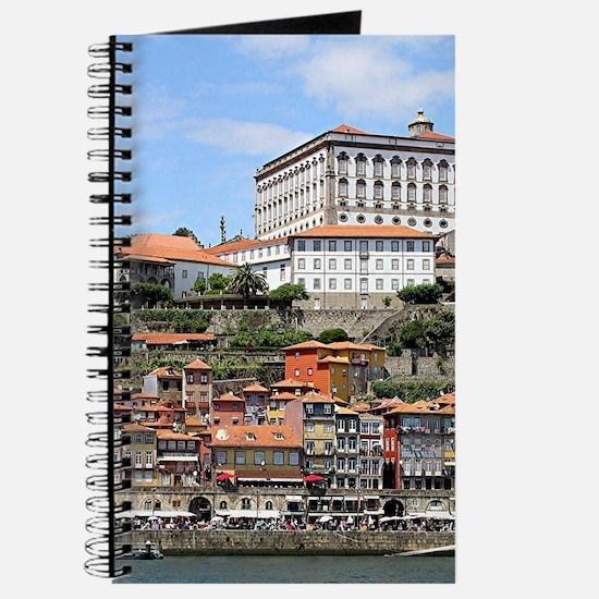 Historic buildings and river, Porto, Portu Journal