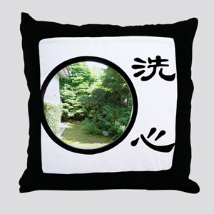 zen_window Throw Pillow
