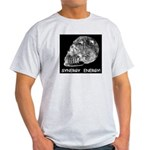 Crystal Skull Synergy Ash Grey T-Shirt